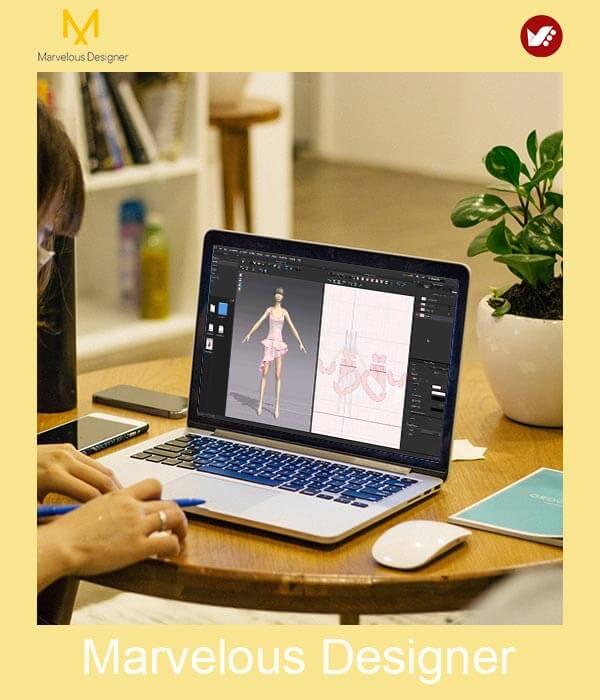 marvelous design online pouyaandish class 7 - آموزش آنلاین و مجازی مارولوس   دوره غیرحضوری و از راه دور Marvelous