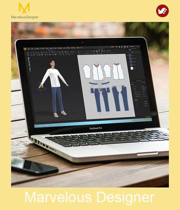 marvelous design online pouyaandish class 8 - آموزش آنلاین و مجازی مارولوس   دوره غیرحضوری و از راه دور Marvelous