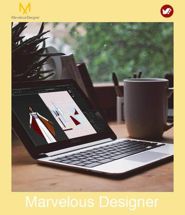 marvelous design online pouyaandish class 9 - آموزش آنلاین و مجازی مارولوس   دوره غیرحضوری و از راه دور Marvelous
