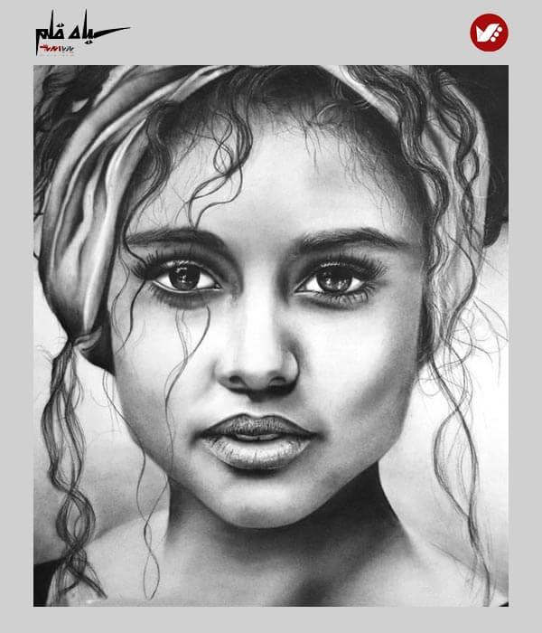 siyah ghalam pouyaandish online class 2 - آموزش آنلاین و مجازی نقاشی سیاه قلم