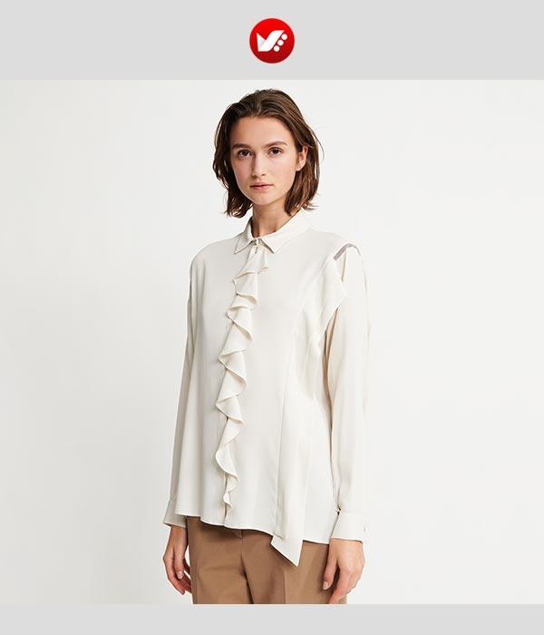crepe blouse pouyaandish1 - انوع پارچه کرپ