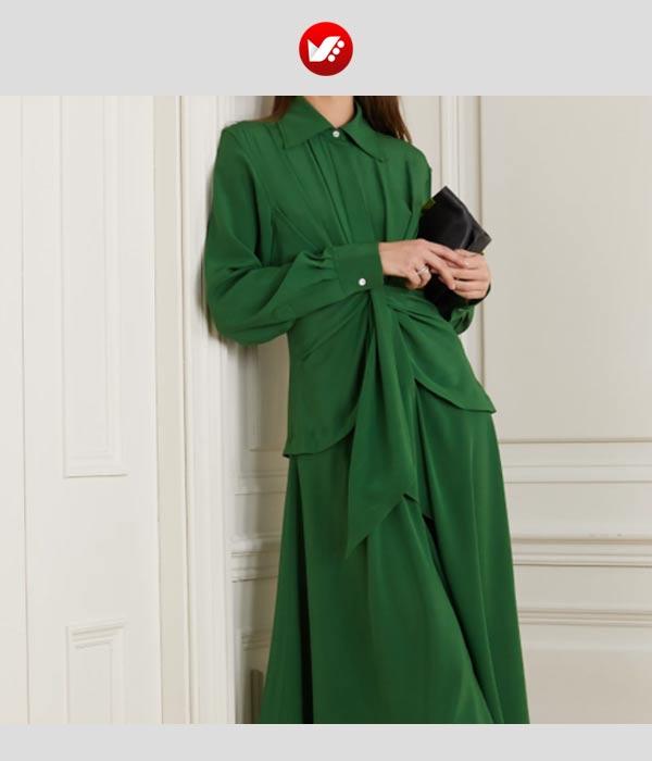 crepe blouse pouyaandish10 - انوع پارچه کرپ