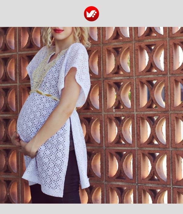 maternity outfit 2 - از طراحی تا دوخت لباس بارداری (آموزش دوخت لباس بارداری)