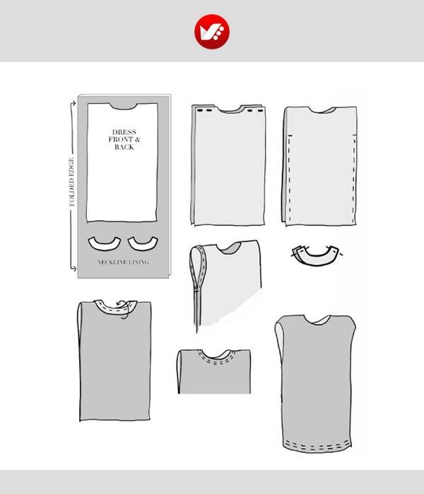 maternity outfit 6 - از طراحی تا دوخت لباس بارداری (آموزش دوخت لباس بارداری)