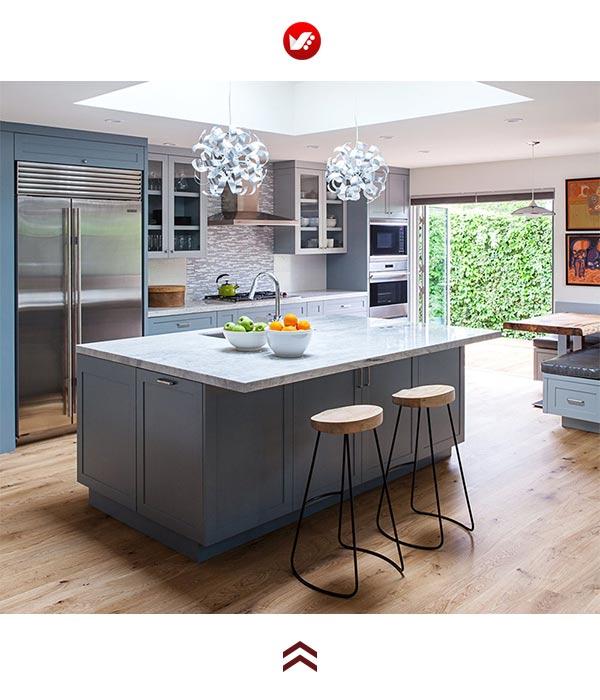 Kitchen trends 2020 1 - جدید ترین ترند های طراحی آشپزخانه در سال 2020