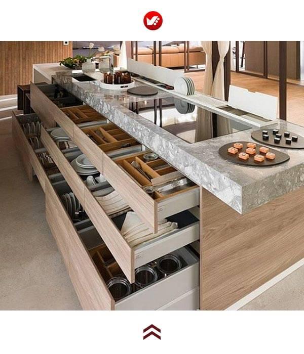 Kitchen trends 2020 12 - جدید ترین ترند های طراحی آشپزخانه در سال 2020