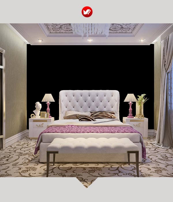 اتاق خواب به سبک آرت دکو