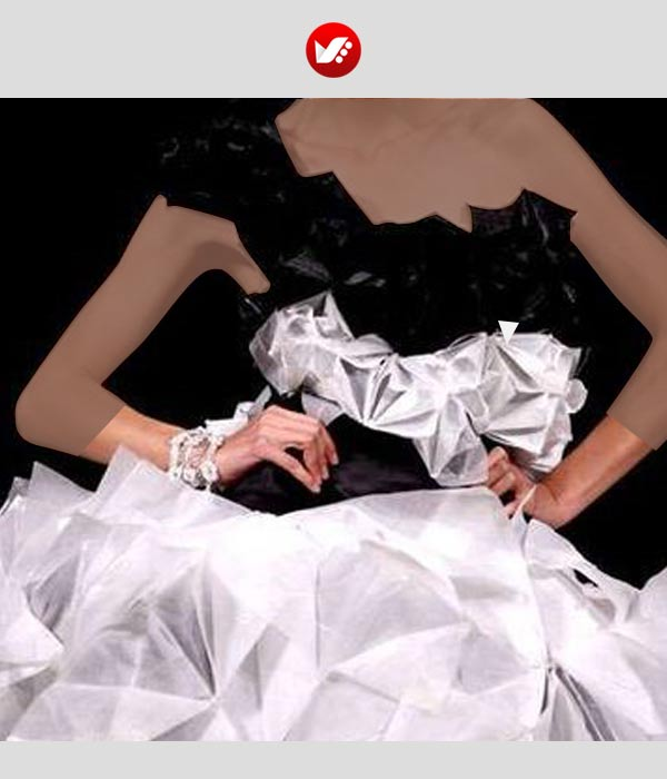 fashion designs inspired by origami 10 - اوریگامی در طراحی پوشاک
