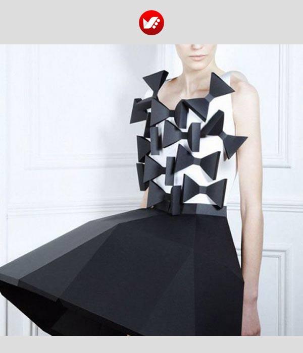 fashion designs inspired by origami 12 - اوریگامی در طراحی پوشاک