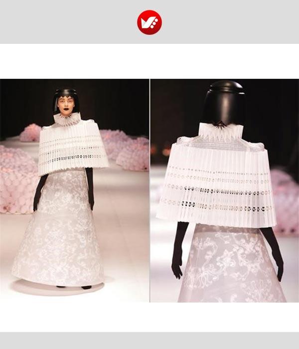 fashion designs inspired by origami 14 - اوریگامی در طراحی پوشاک