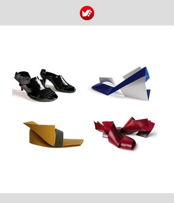 fashion designs inspired by origami 18 - اوریگامی در طراحی پوشاک