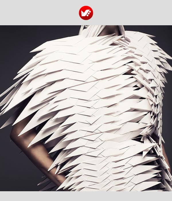 fashion designs inspired by origami 3 - اوریگامی در طراحی پوشاک