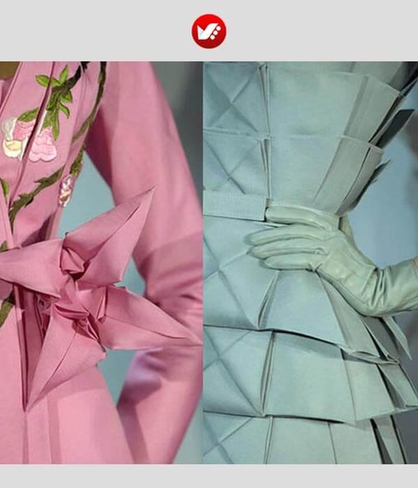 fashion designs inspired by origami 4 - اوریگامی در طراحی پوشاک