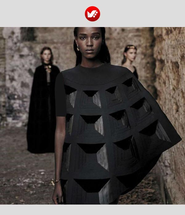 fashion designs inspired by origami 5 - اوریگامی در طراحی پوشاک