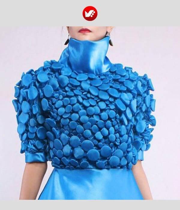 fashion designs inspired by origami 7 - اوریگامی در طراحی پوشاک