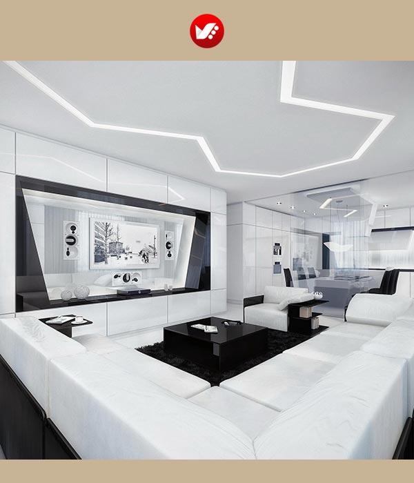 impact of tech on decorasion 1 - تاثیر تکنولوژی های مدرن بر دکوراسیون داخلی