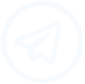 telegram icon - footer
