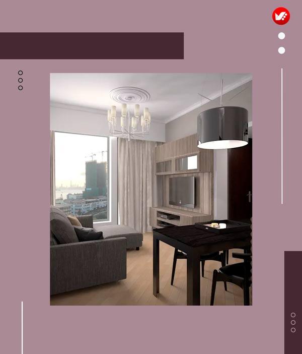 ایده هایی برای طراحی داخلی اتاق نشیمن
