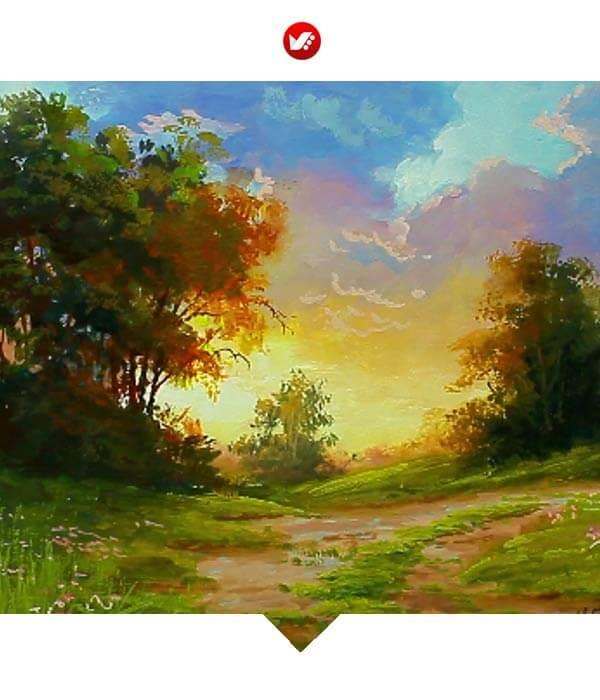 naghashi 08 - 6نوع مختلف نقاشی که آشنایی با آن برای هنرمندان الزامی است