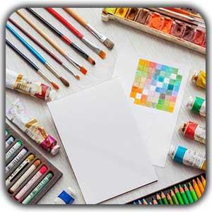 6 نوع مختلف نقاشی