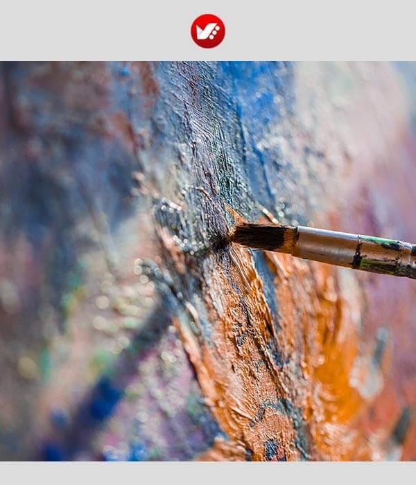 دو قانون طلایی در نقاشی با رنگ روغن