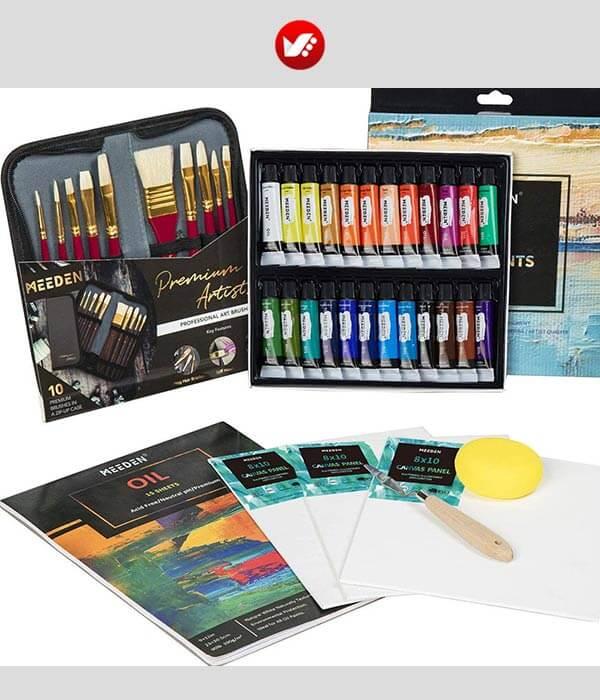 چگونه با رنگ روغن نقاشی بکشیم