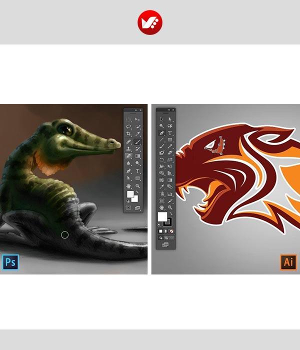 photoshop vs illustrator p 12 - ایلوستریتور یا فتوشاپ مسئله این است!