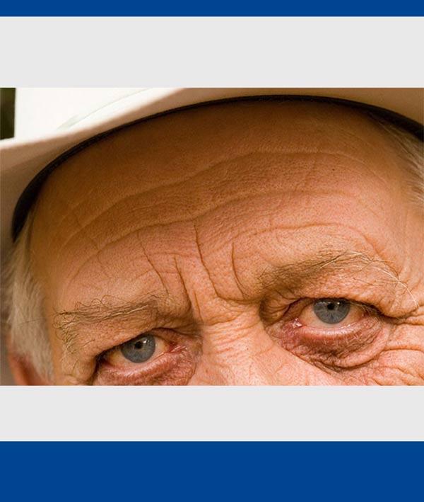 کاهش چروک های صورت در فتوشاپ