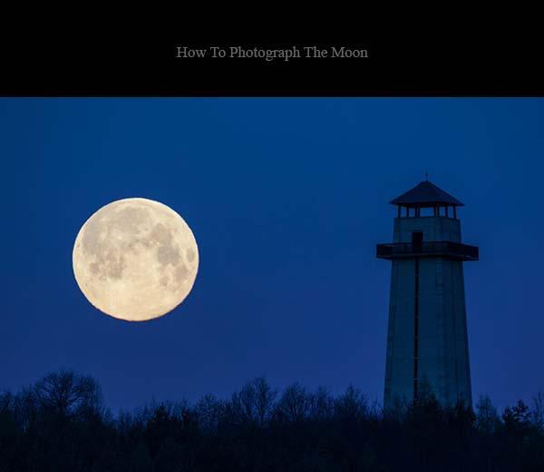 لنز مناسب برای عکاسی ماه