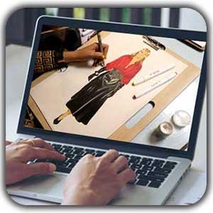 آموزش مجازی طراحی لباس