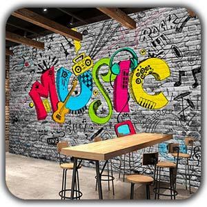 نقاشی دیواری در شهر