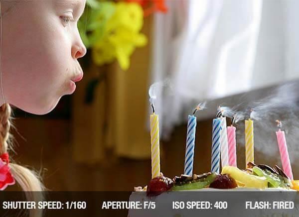 ایده عکس تولد در خانه